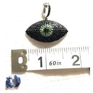 Rarities Evil Eye Gemstone Necklace
